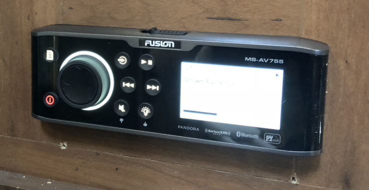 Photo of the Fusion MS-AV755 installed