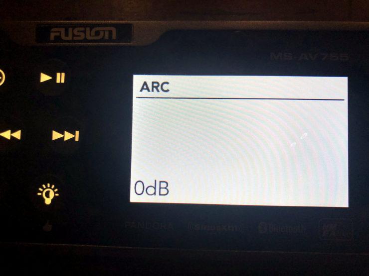 Screenshot of the Fusion input setting